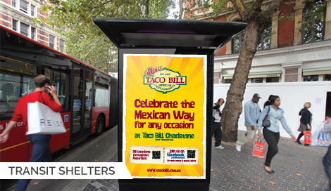 Transit Shelter Billboards